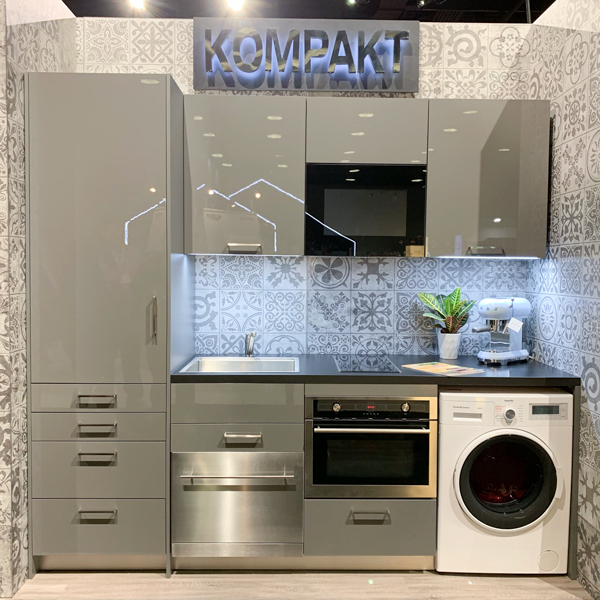 Kompact kitchen by Bauformat