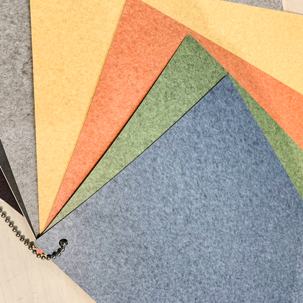 New felt texture laminate at Formica